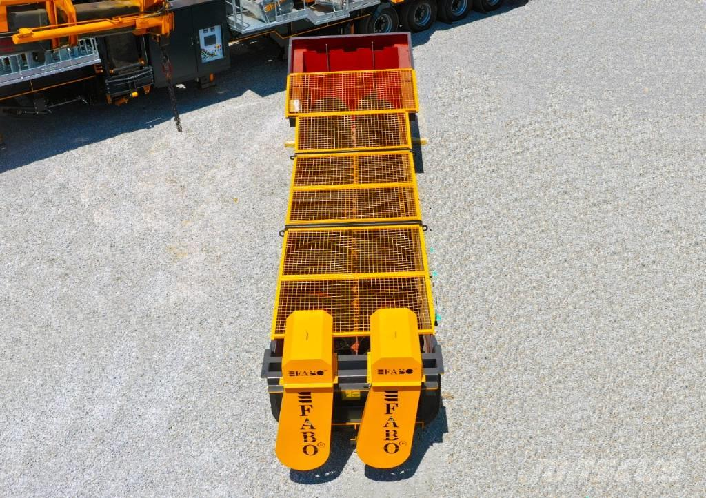Fabo HY-800 SERIES 80 TPH SCREW WASHER | SAND WASHING