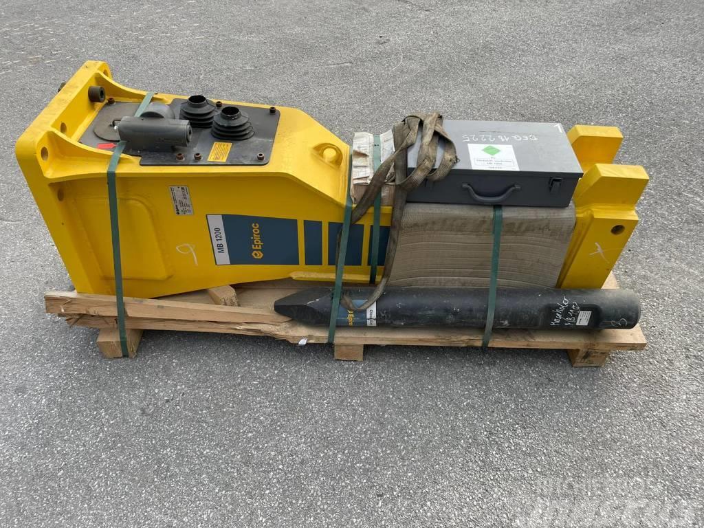 Epiroc Atlas Copco MB1200DP Dust Protect