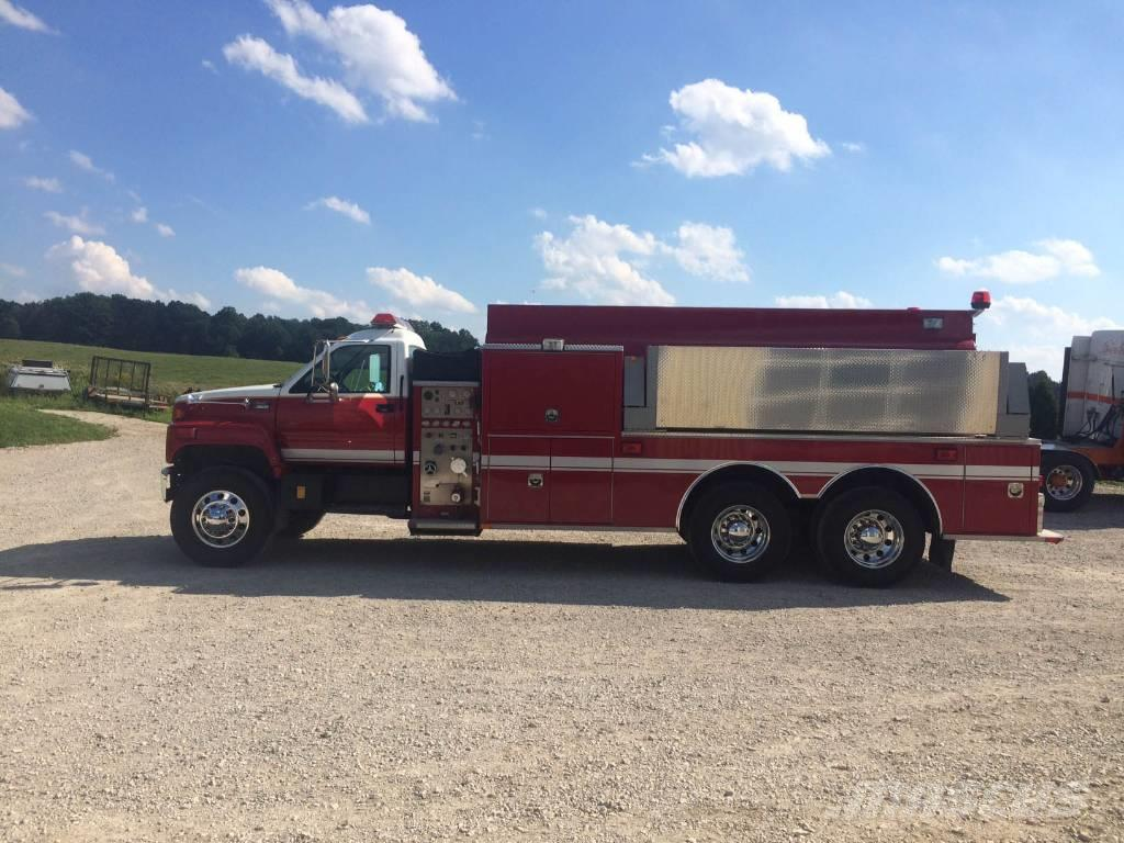 [Other] ALMONTE Tanker Tender Emergency Fire Truck GMC