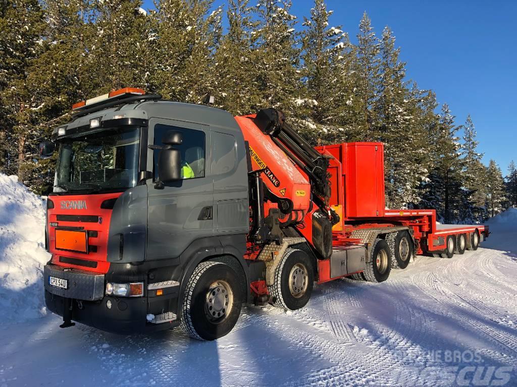 Scania PK100002G PJ170E kranbil obs 5700mil