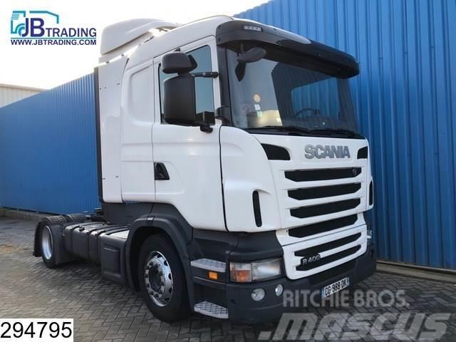 Scania R 400 EURO 5, Manual, Retarder, Airco