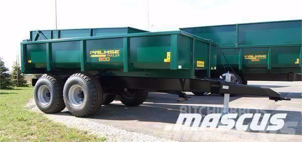 Palmse Trailer Dumper 8 ton D800 Ny kampanj