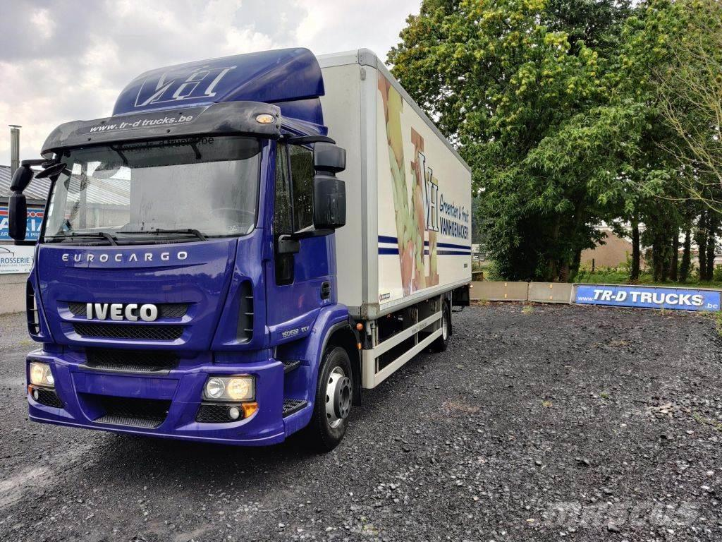Iveco EuroCargo 150 e22 insulated box with taillift dhol