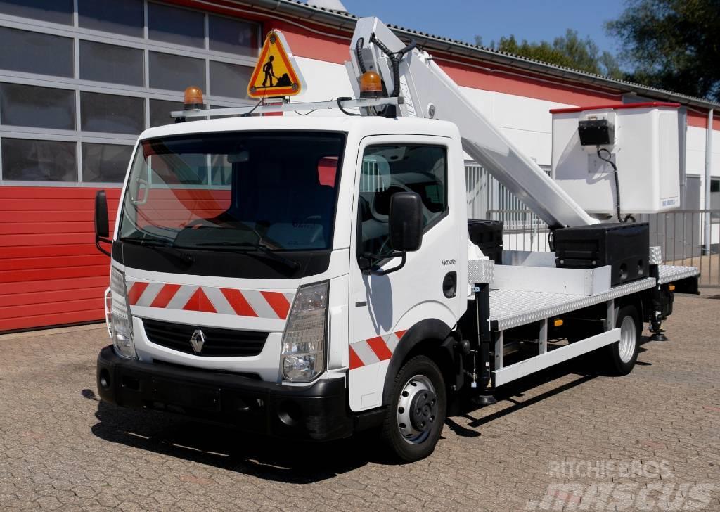 Renault Maxity 120 Multitel 160 ALU 16m 200kg E5 TÜV UVV