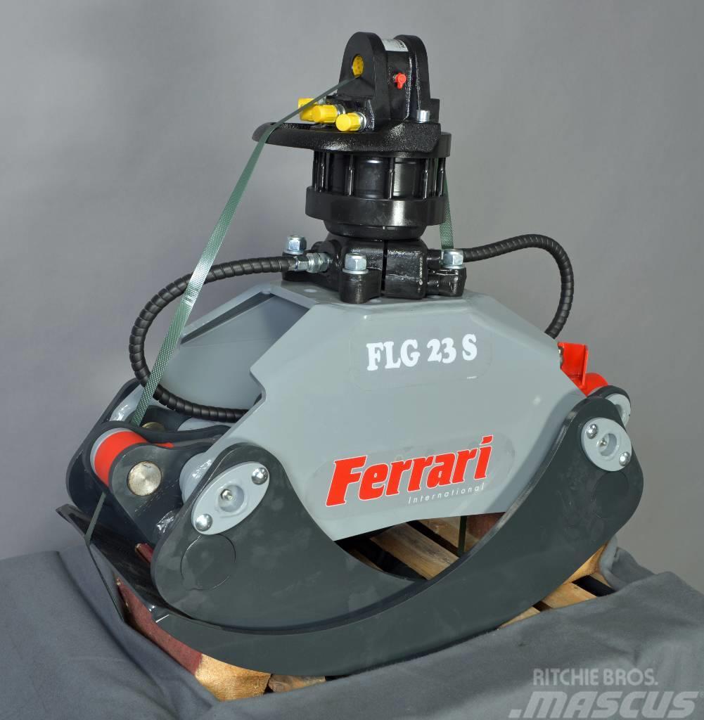 Ferrari Holzgreifer FLG 23 XS + Rotator FR55 F