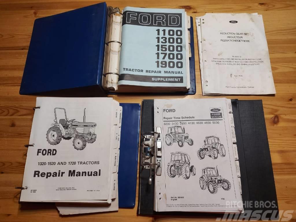 Ford Traktorien korjaamokäsikirjoja - repair manual