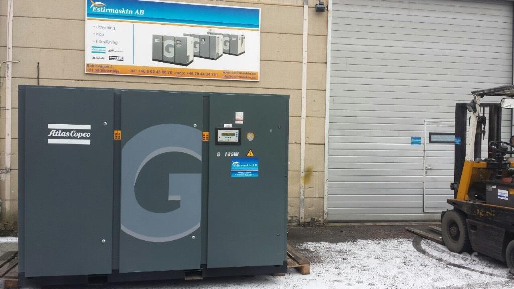 Atlas Copco.kompressor.compressor G160 W