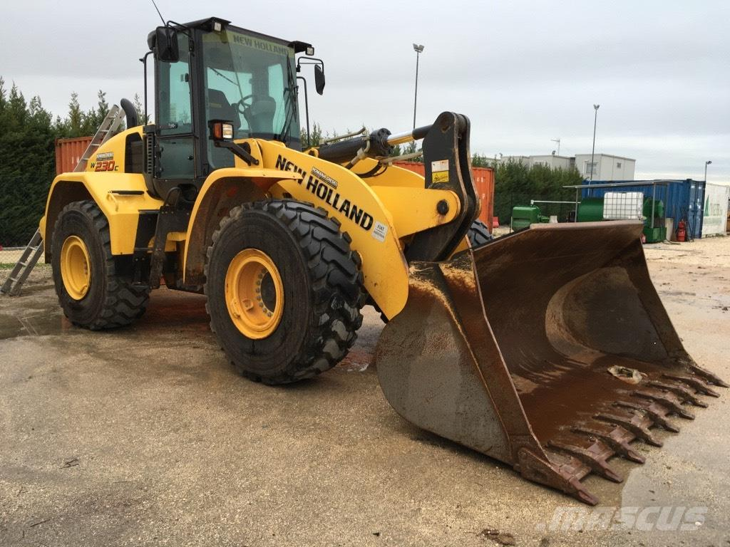 [Other] pala gommata New Holland W 230 C