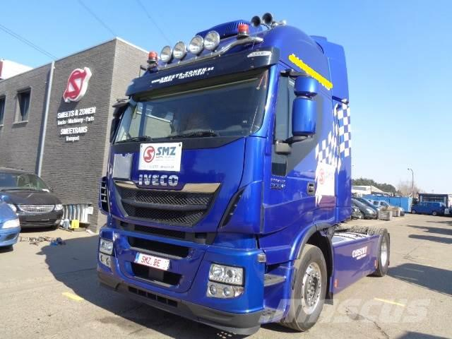 Iveco Stralis 560 Le Mans Full options 5x