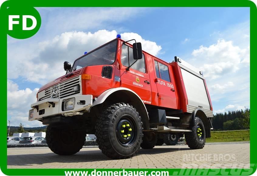Unimog Unimog U1300L Doka, Turbo, TLF, Feuerwehr