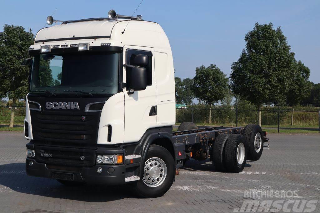 Scania R620-V8 6X2 EURO 5 RETARDER PTO WITH PUMP
