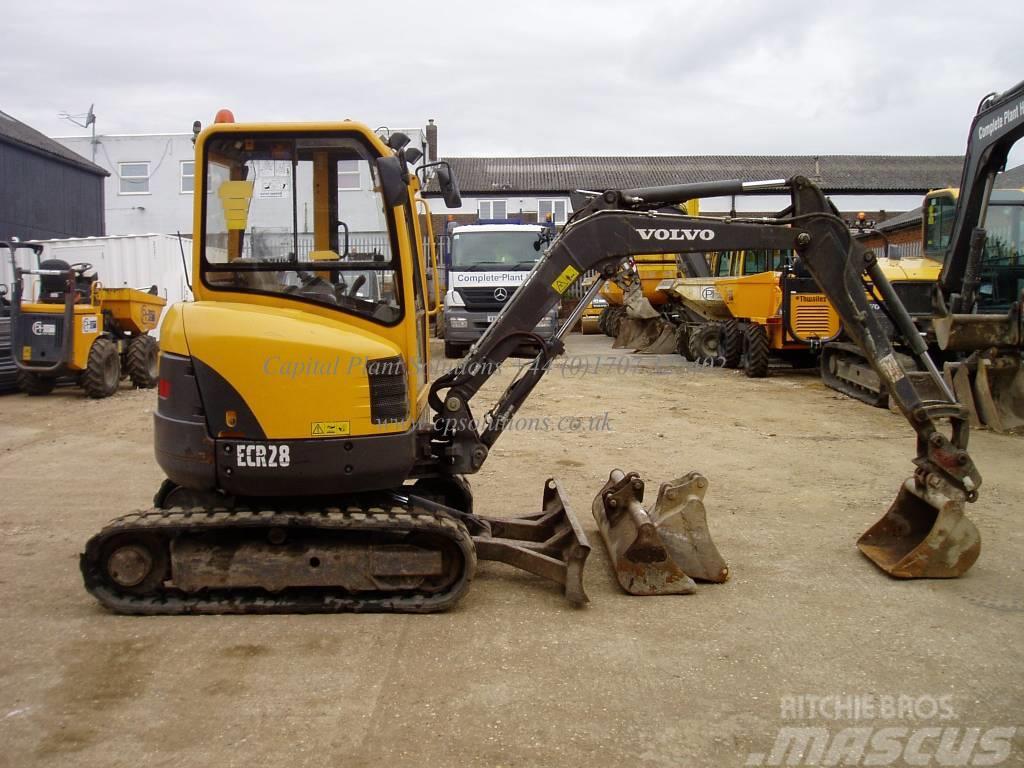 Volvo Ecr 28 Welwyn Garden City Mini Excavators