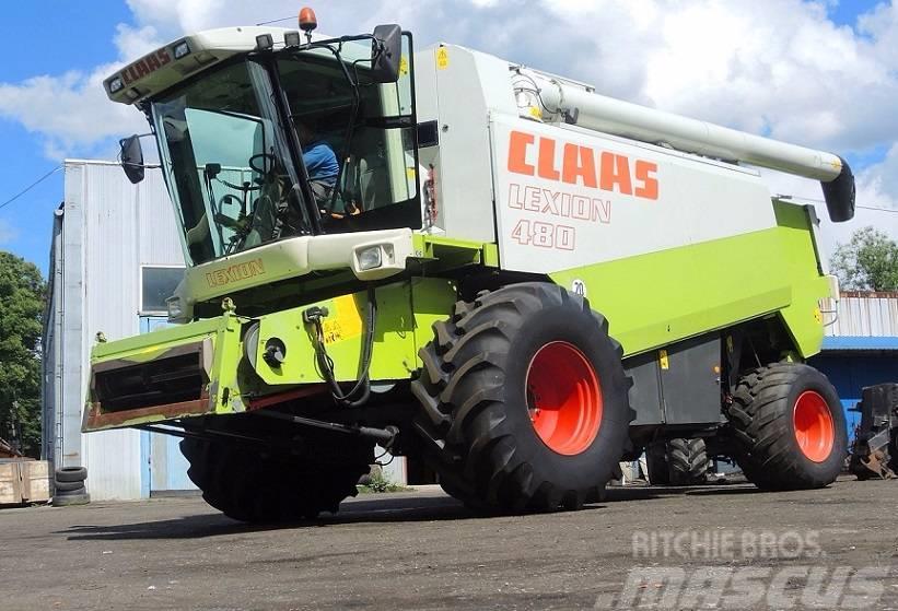 CLAAS LEXION 480 - V750