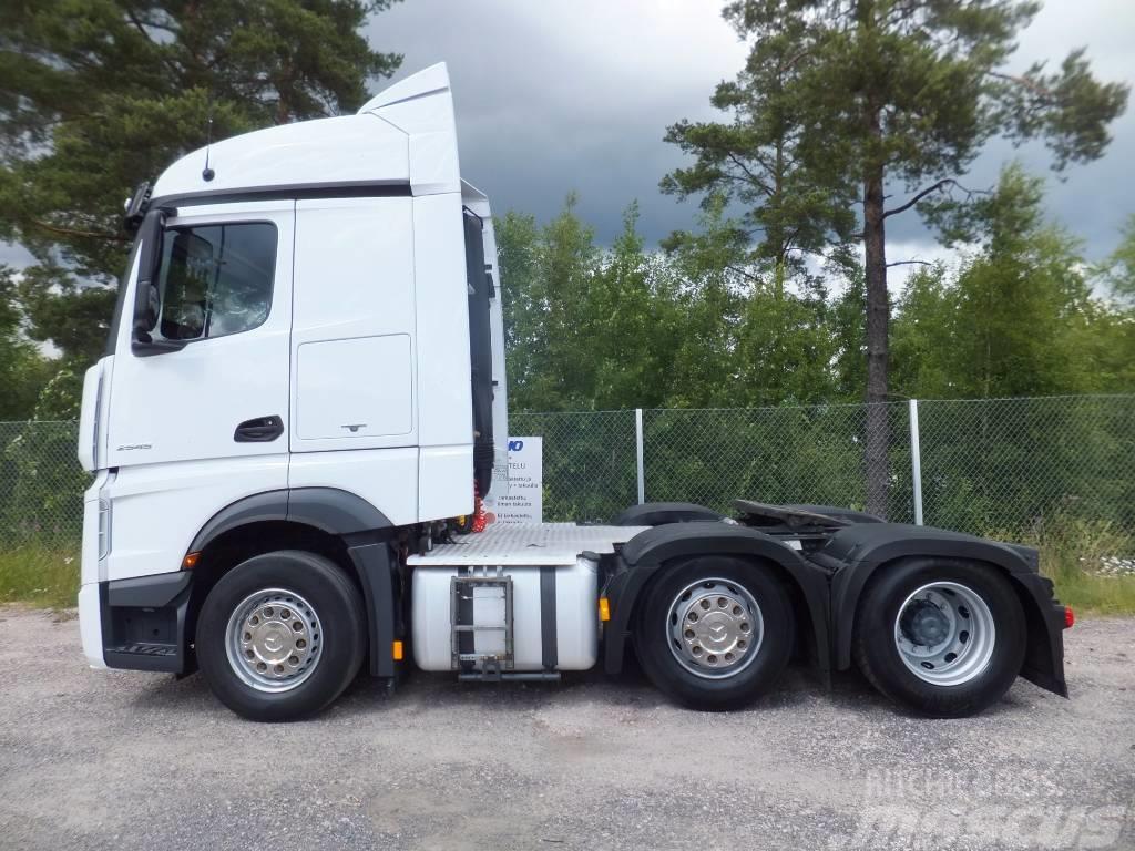 Used Mercedes Benz Actros 2545 Ls Streamspace Tractor