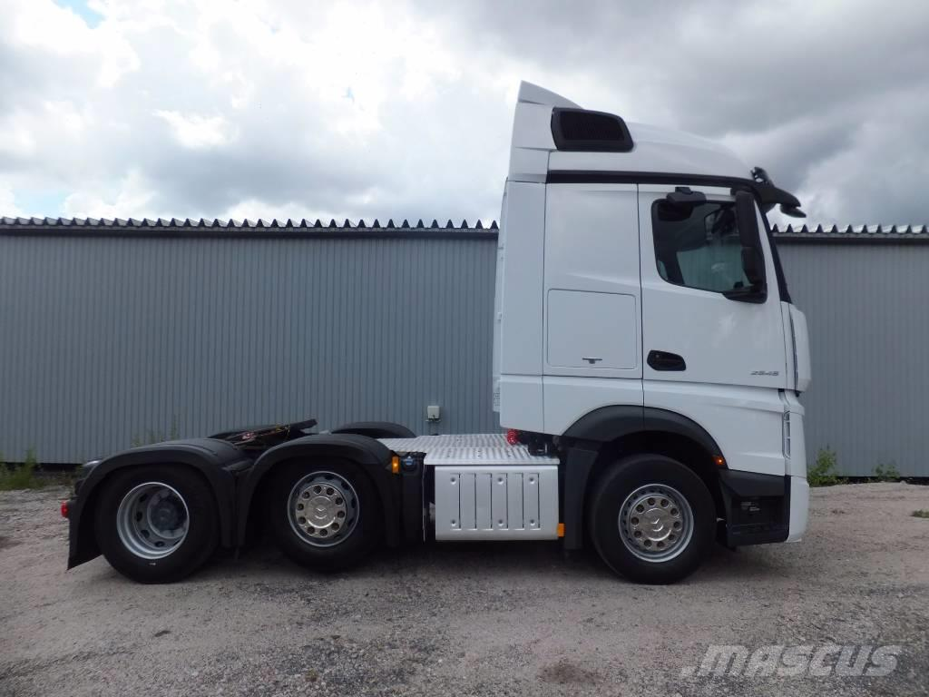 Used mercedes benz actros 2545 ls streamspace tractor for Used mercedes benz truck