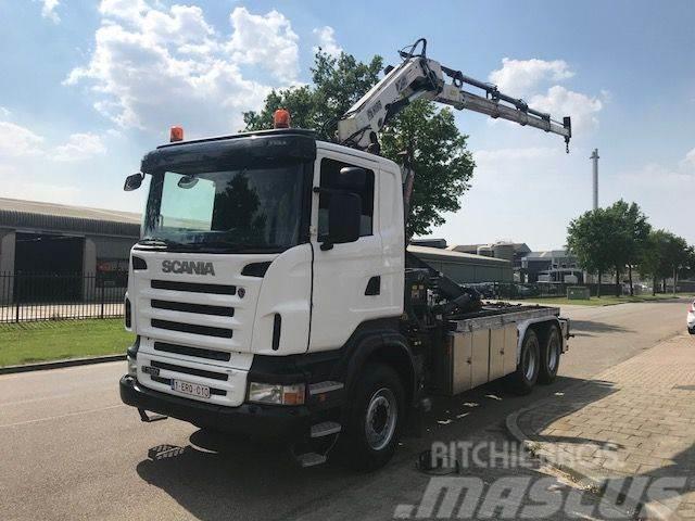 Scania R 380 6x4 Haak / Kraan