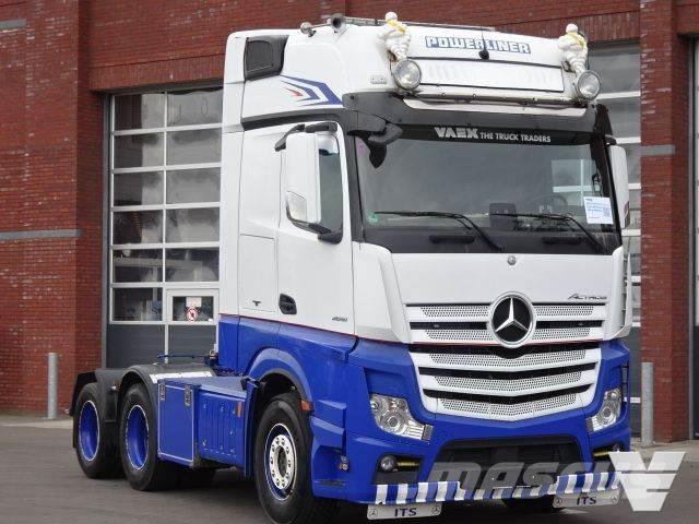 Mercedes-Benz Actros 2651 6x2 Gigaspace - leather interior