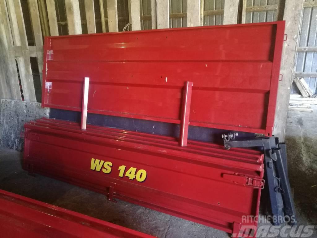 Tuhti WS 140 alalaita+suojalevysarja+aukeava takalaita
