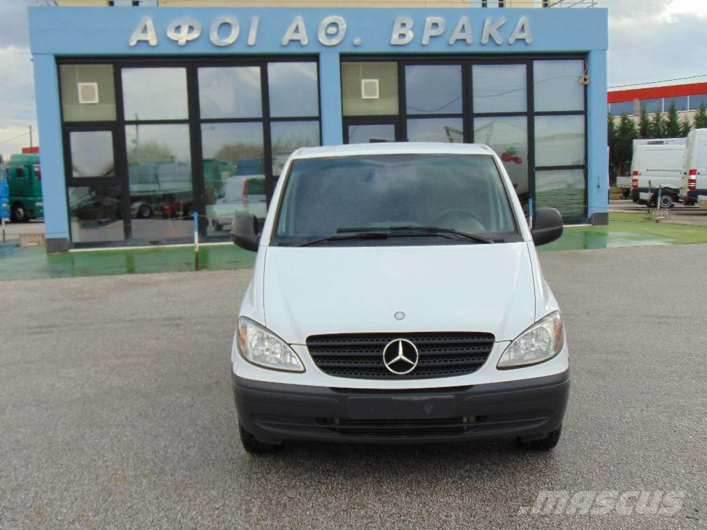 used mercedes benz 111 vito cdi other trucks year 2008 for sale mascus usa. Black Bedroom Furniture Sets. Home Design Ideas