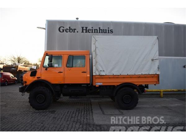Mercedes-Benz Unimog U 4000 4x4 Bluetec 5! ID NR 40