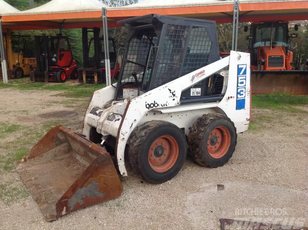 Bobcat 753 Pris 89 834 Kr Tillverkningsår 1994