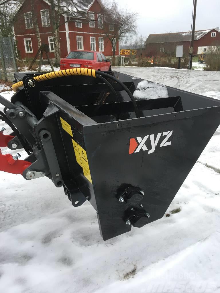 XYZ sandspridare 800-1000 liter
