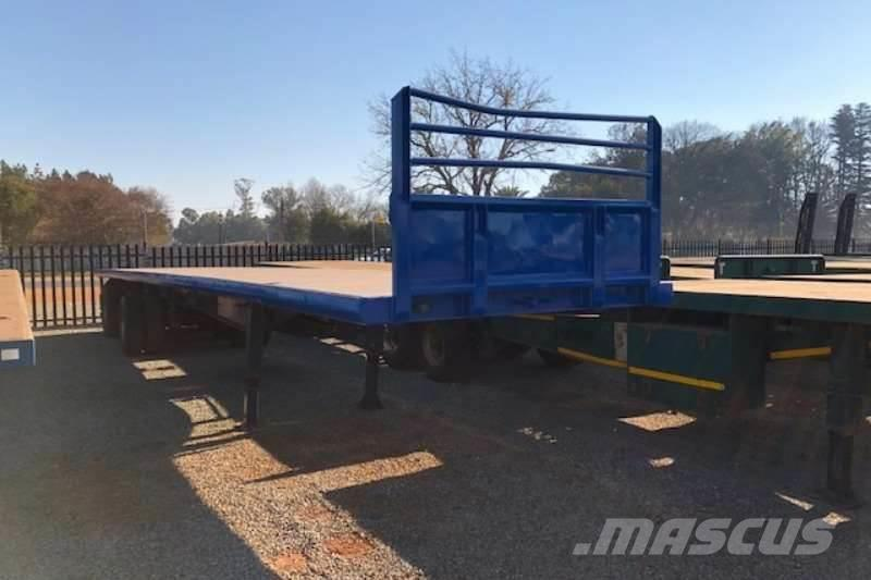[Other] Hendred Tri axle 13.5m and 14m Flatdeck Trailer