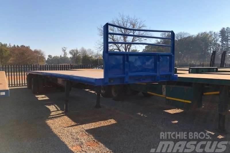 [Other] Hendred Tri axle 14m Flatdeck Trailer