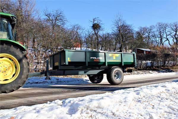 Palmse D 600  Dumpervagn NY