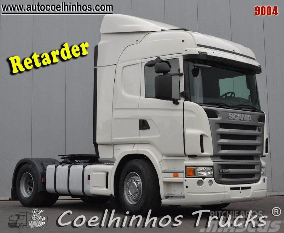 Scania R400  Retarder