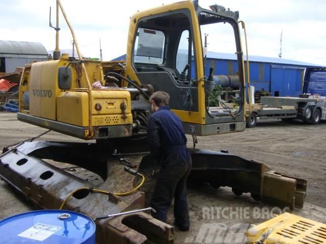 Volvo EC 140 B LCM Swamptrack dismantling for spares, 2005, Bandgrävare