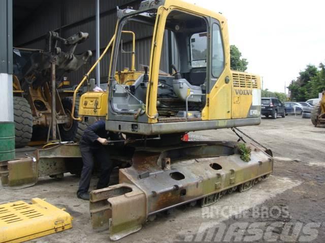 Volvo EC 140 B LCM Swamptrack dismantling for spares