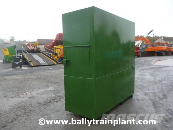Construction Gas Tank : Used ledbury ltr bunded fuel bowser tank other price