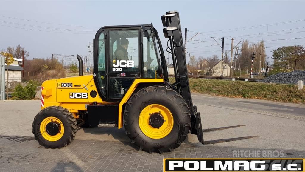 JCB 930 TERENOWY 4x4 138.000 zł netto JCB 926