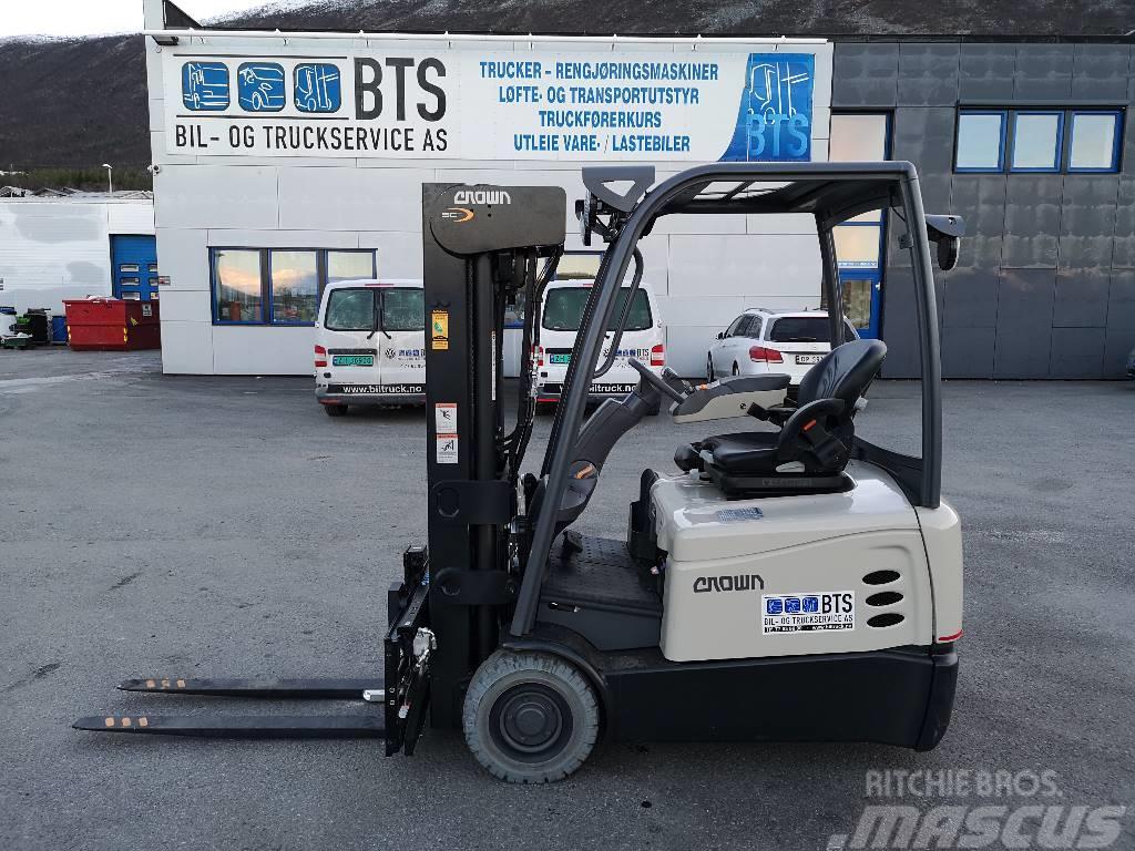 Crown SCT 6020 - 1,6 t el. truck - 5,5 m LH (PÅ LAGER)
