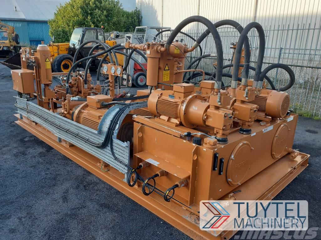 Rexroth hydraulic power plant LIKE NEW powerpack 3x 210BAR