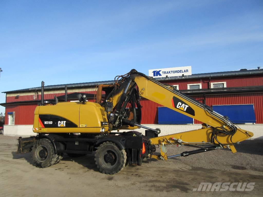 Caterpillar 316D Dismantled for spare parts
