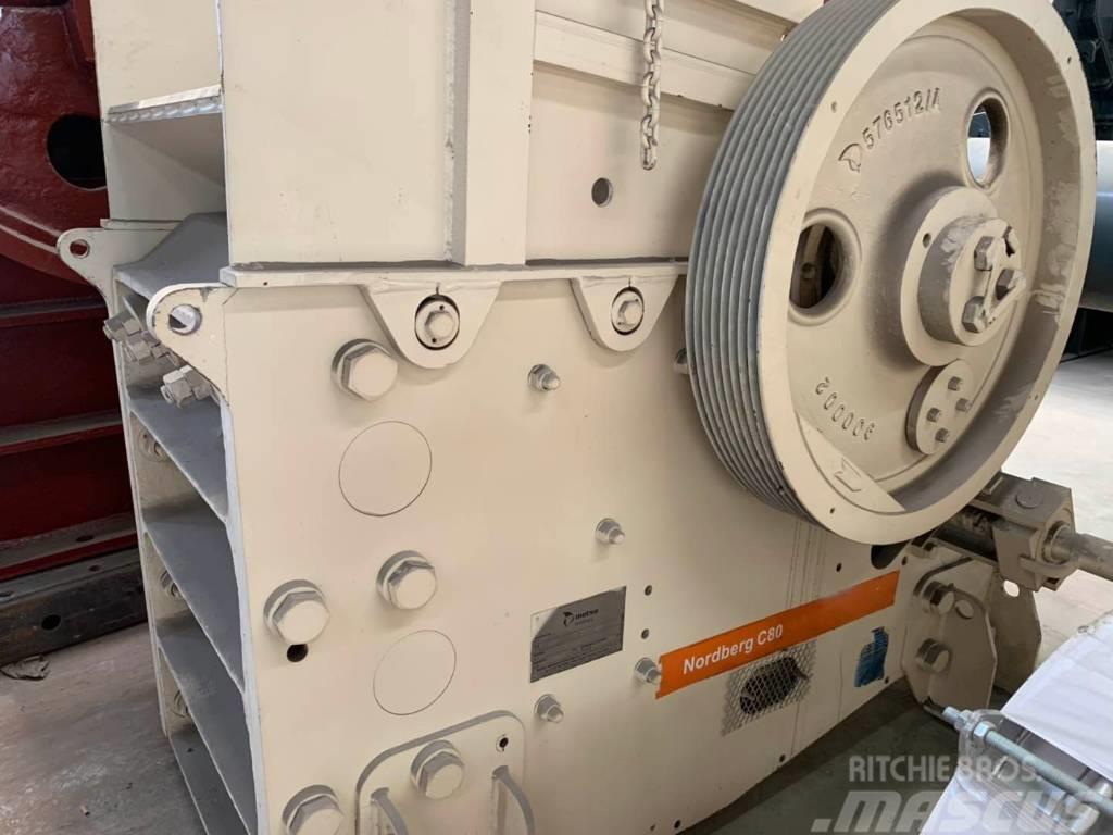 Metso Jaw crusher C80