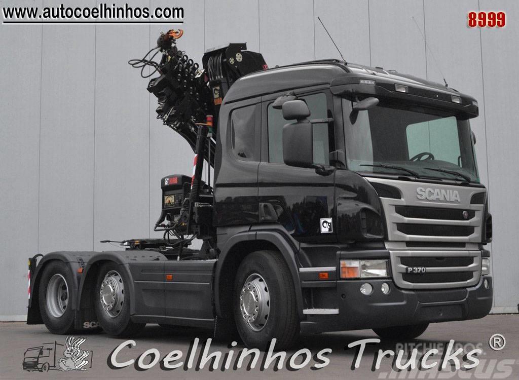 Scania P370   HIAB 211XS