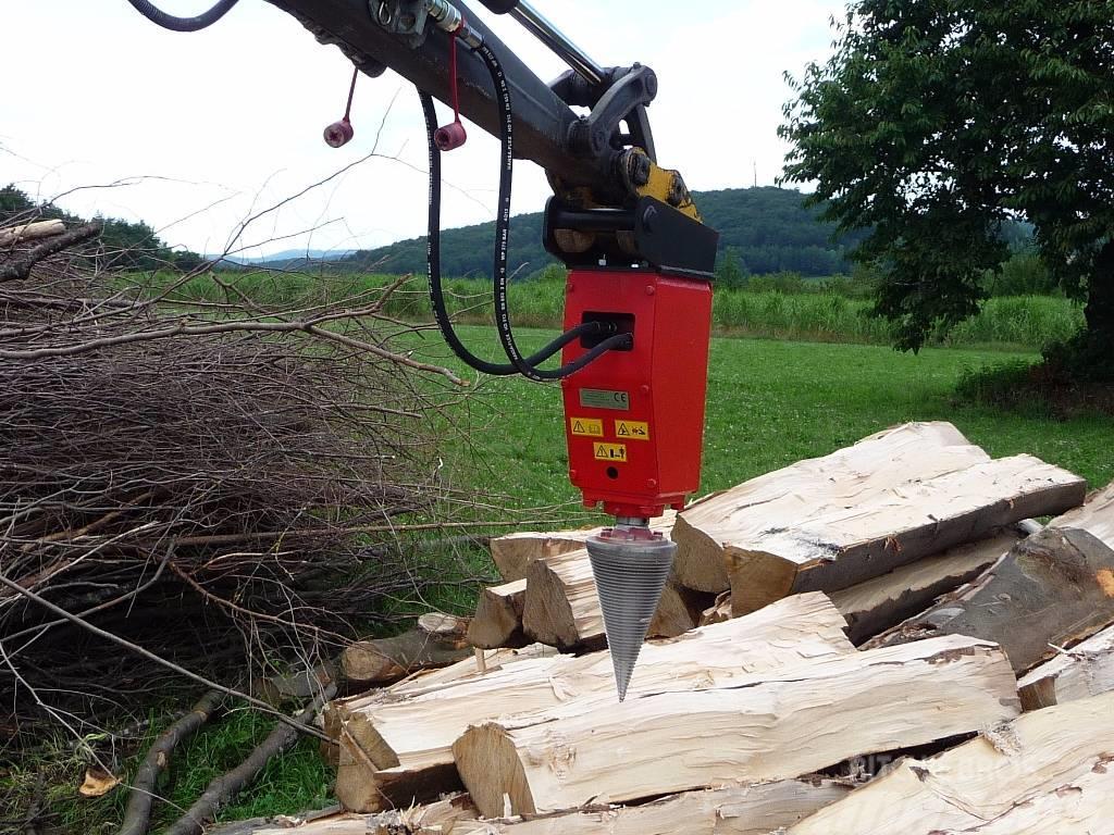 Berühmt Polžni cepilec drv Kegelspalter Holzspalter Splitt, Preis: 1.475 @NM_35