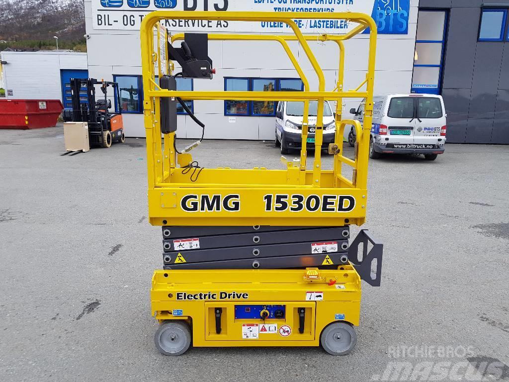 [Other] GMG 1530-ED sakselift 6,5 m arb. høyde (PÅ LAGER)