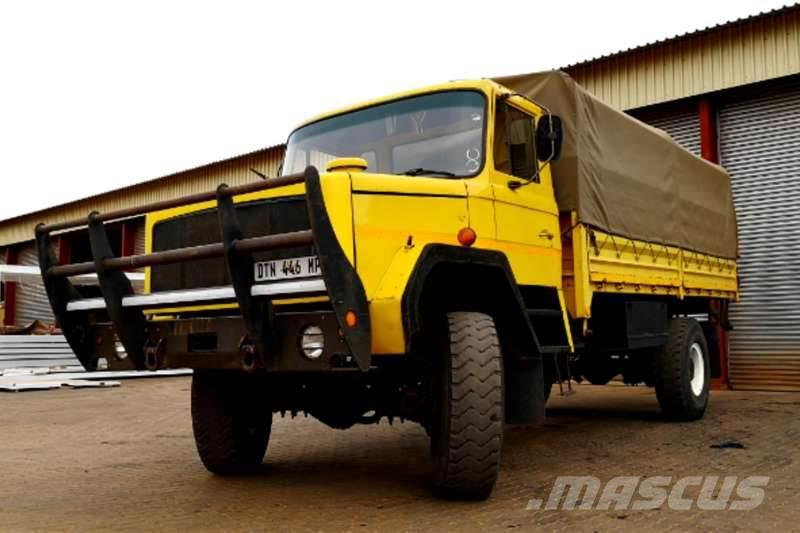 Samil 50 Mk2 Dropside with Canvas