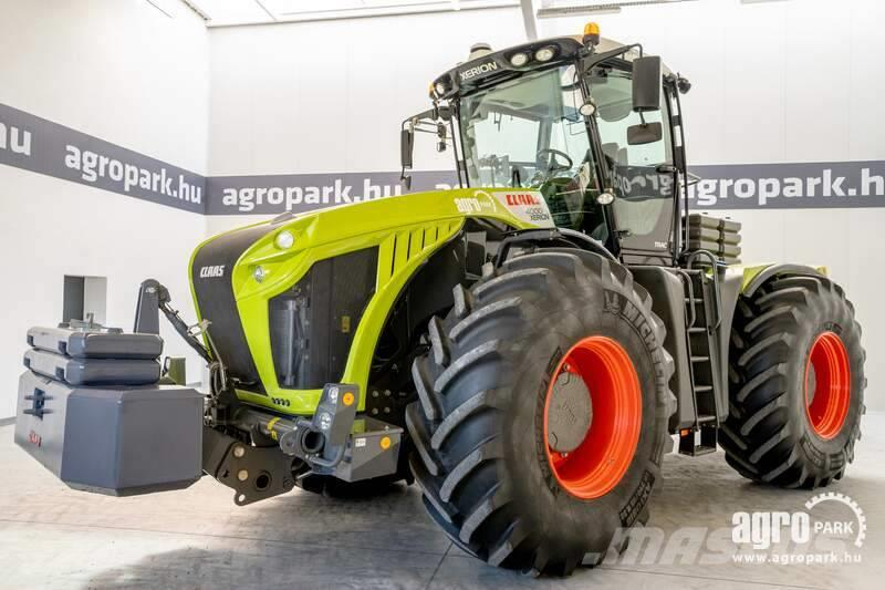 CLAAS Xerion 4000 TRAC Tradition (341 hours) 50 km/h ZF