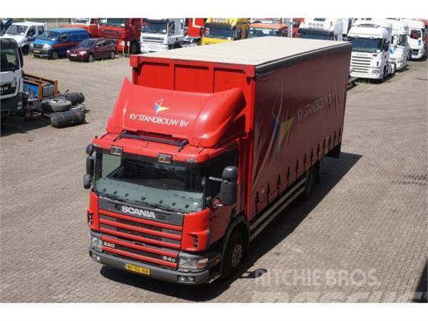Scania 94D 220 4x2 schuifzeil/vast dak