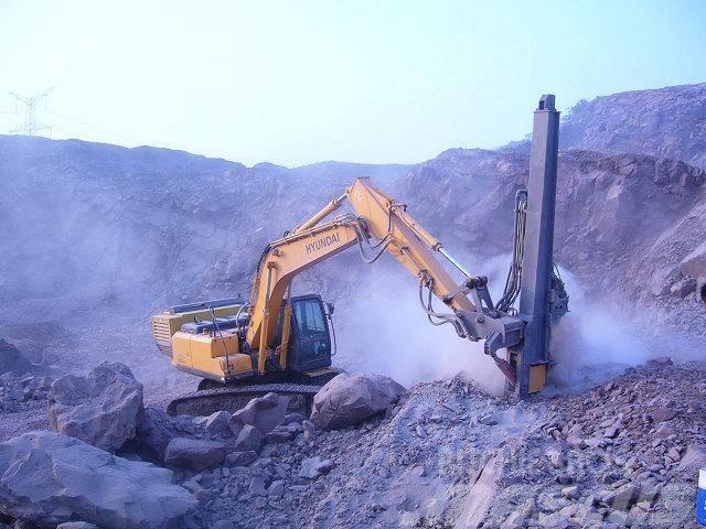 [Other] 挖掘机改装钻机 挖机改装潜孔钻机