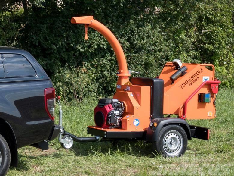 Timberwolf TW 160PH Holzschredder - Holzhäcksler