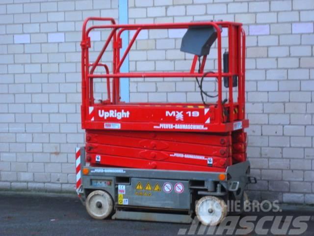 UpRight Arbeitsbühne UPRIGHT MX 19 ELEKTRO - 8m