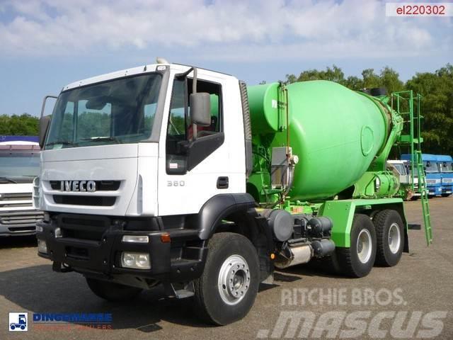 Iveco Trakker AD380T38 6x4 Schwing mixer 7 m3