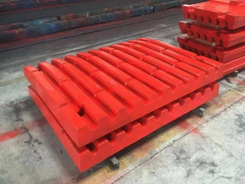 White Lai Wear Part of Jaw Crusher for Stone Rock Crushing