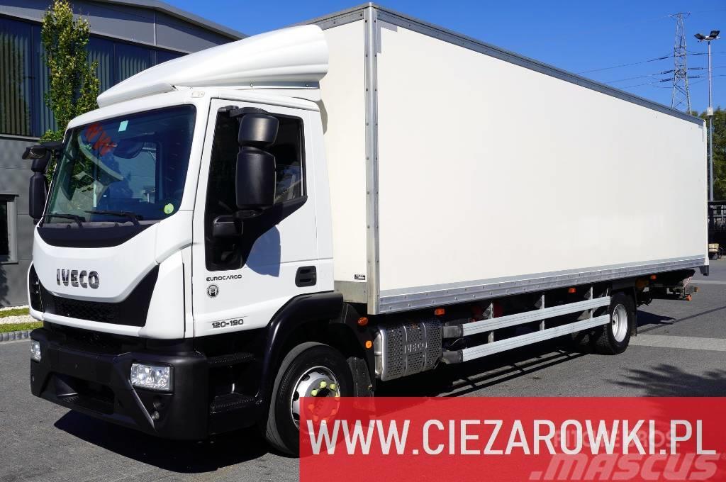 Iveco Eurocargo 120E19 , E6 , 21 EPAL , side door , lift